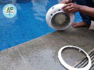 jasa service lampu kolam renang serpong bsd