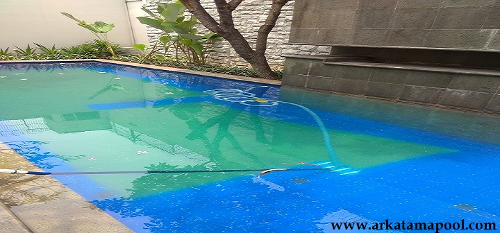 Jasa water treatment/penjernihan kolam renang CIJANTUNG