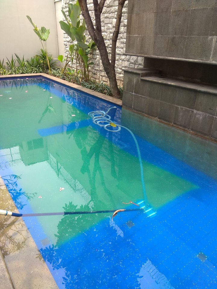 Jasa water treatment/penjernihan kolam renang
