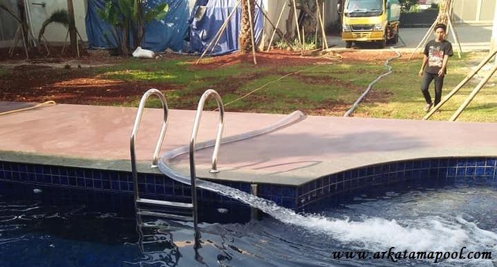Layanan Jasa isi air kolam renang SETIA BUDI