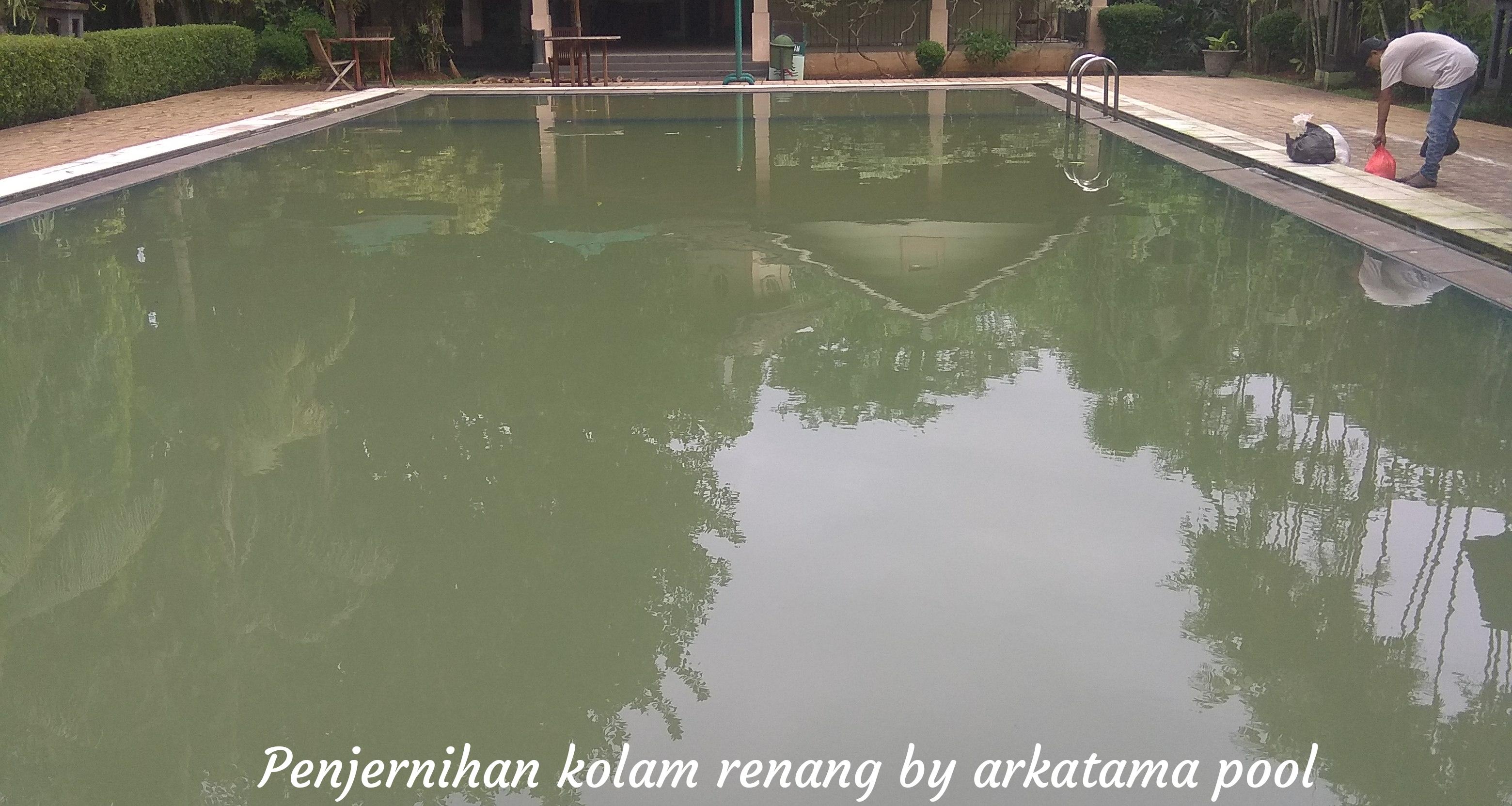 Layanan jasa penjernihan kolam renang JAKARTA SELATAN